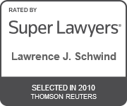 Lawrence Schwinds Super Lawyer Award Badge