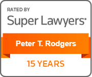 Peter Rodgers Super Lawyers Custom Badge