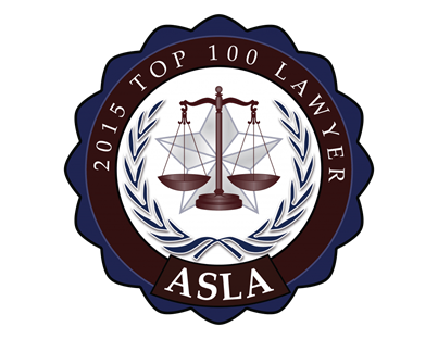 ASLA Top Lawyers Badge